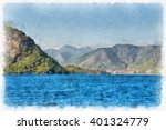sea  holidays  turkey... | Shutterstock . vector #401324779