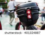 bicycle bag behind seat | Shutterstock . vector #401324887