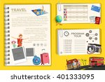 guide book of international... | Shutterstock .eps vector #401333095