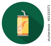 soda can flat icon   Shutterstock .eps vector #401333371