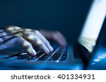 close up image of software... | Shutterstock . vector #401334931