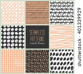 collections of design elements. ... | Shutterstock .eps vector #401339929