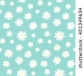 cute seamless pattern with... | Shutterstock .eps vector #401349634