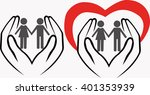 take care of children | Shutterstock .eps vector #401353939