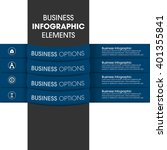 business infographics vector... | Shutterstock .eps vector #401355841