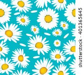 floral seamless pattern with... | Shutterstock .eps vector #401365645