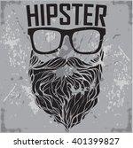 hipster print for t shirt....   Shutterstock .eps vector #401399827