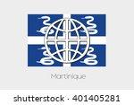 a flag illustration of... | Shutterstock .eps vector #401405281
