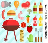 colorful vector illustration of ... | Shutterstock .eps vector #401410795