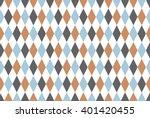 vintage circus geometric... | Shutterstock .eps vector #401420455