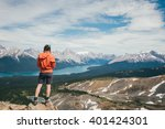 thinking moutains   Shutterstock . vector #401424301