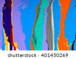 closeup view of an original... | Shutterstock . vector #401450269