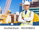engineer builder at... | Shutterstock . vector #401458831