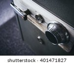 safe lock code on safety box... | Shutterstock . vector #401471827
