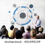 global communication networking ... | Shutterstock . vector #401490139