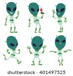 vector cartoon image of a set... | Shutterstock .eps vector #401497525