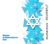israel independence day design   Shutterstock .eps vector #401498917