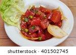 Small photo of Hawaiian ahi tuna poke with Maui onions