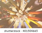 Multi Ethnic Diverse Group Of...