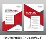 layout template elements ... | Shutterstock .eps vector #401509825