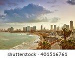 tel aviv  israel. view from... | Shutterstock . vector #401516761
