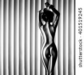 nude woman sexy artistic black...