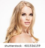 woman beauty portrait skin care ... | Shutterstock . vector #401536159