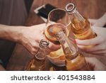 view on friends having... | Shutterstock . vector #401543884