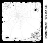 halloween card illustration ... | Shutterstock . vector #401555431