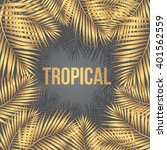"text ""tropical"" on a background ... 