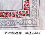 Tablecloth With Embroidered...