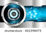 blue silver abstract hi speed... | Shutterstock .eps vector #401598475