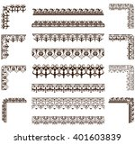 vector ornaments frames ... | Shutterstock .eps vector #401603839