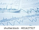 showing business and financial... | Shutterstock . vector #401627527