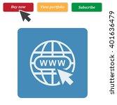 website icon jpg | Shutterstock .eps vector #401636479