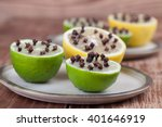 lemon and limes with cloves ...   Shutterstock . vector #401646919