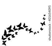 butterflies design | Shutterstock .eps vector #401654095
