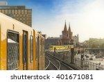 panoramic view of berliner u... | Shutterstock . vector #401671081