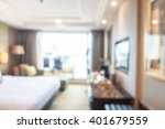abstract blur bedroom interior... | Shutterstock . vector #401679559