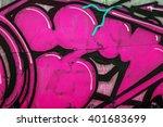beautiful street art of... | Shutterstock . vector #401683699