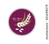 rice berry vector illustration.   Shutterstock .eps vector #401698579