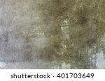 cracked old beige mold concrete ... | Shutterstock . vector #401703649