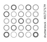 set of elements for design  ... | Shutterstock .eps vector #401717179