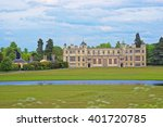 Audley End House And Pond In...