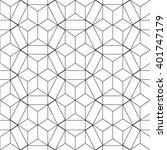 seamless geometric pattern.... | Shutterstock .eps vector #401747179