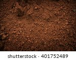 Soil On The Ground As Texture...