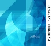 abstract background with blue... | Shutterstock .eps vector #401784769