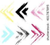 cute vector seamless pattern .... | Shutterstock .eps vector #401787895