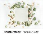 white wedding or family photo... | Shutterstock . vector #401814829
