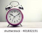 classic green alarm clock...   Shutterstock . vector #401832151